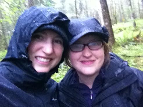 A Rainy Selfie